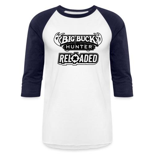 Big Buck Hunter Reloaded - Black - Unisex Baseball T-Shirt