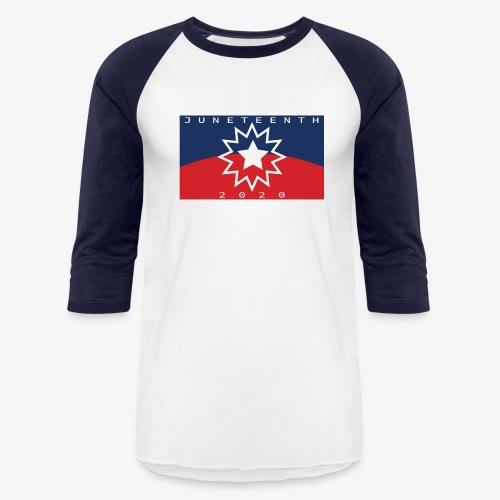 Juneteenth01 - Unisex Baseball T-Shirt