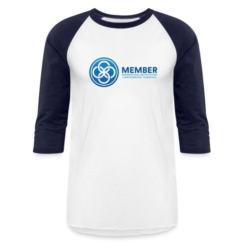 IICT Member Logo - Unisex Baseball T-Shirt