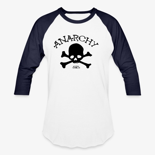 Anar Skull black - Baseball T-Shirt