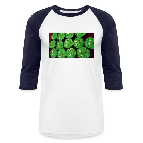 Cupcake Smiles - Baseball T-Shirt