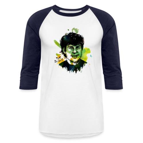 DeHart by Molly Crabapple - Baseball T-Shirt