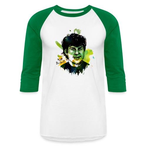 DeHart by Molly Crabapple - Unisex Baseball T-Shirt