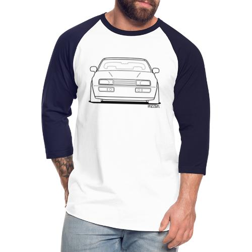 Wolfsburg Rado Outline - Unisex Baseball T-Shirt