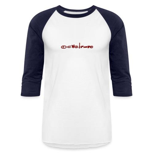 Sign1News in written ASL (Exclusive Design) - Baseball T-Shirt