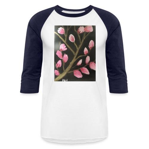 Magnolia Buds Early Spring - Unisex Baseball T-Shirt