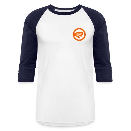 LuckyFin Orange - Baseball T-Shirt