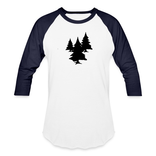 Bush Tree - Unisex Baseball T-Shirt