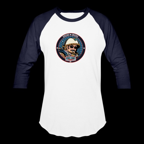 Spaceboy - Space Cadet Badge - Unisex Baseball T-Shirt