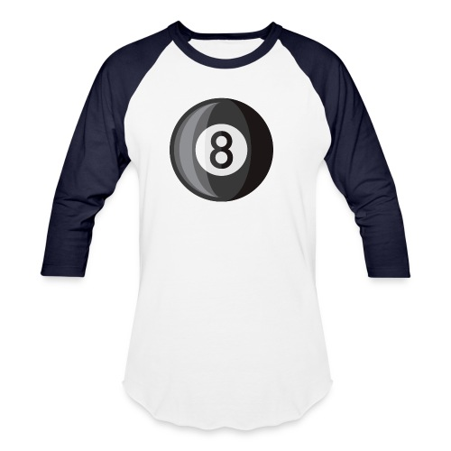8 Ball - Unisex Baseball T-Shirt