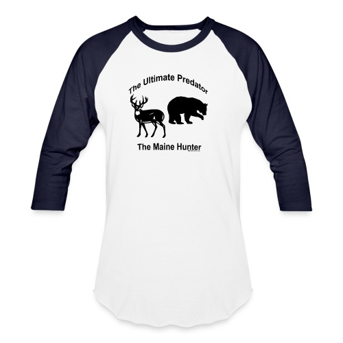 Ultimate Predator - Unisex Baseball T-Shirt