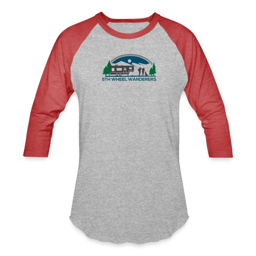 5th Wheel Wanderers - Unisex Baseball T-Shirt
