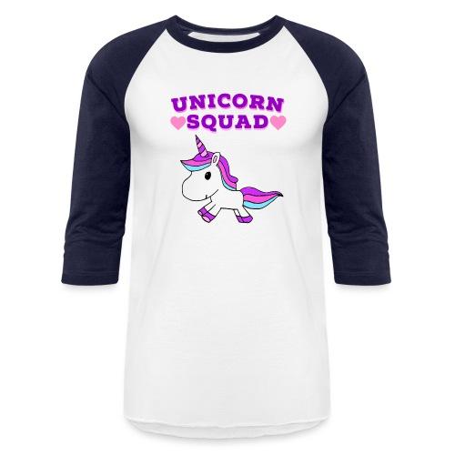 Unicorn Squad! - Unisex Baseball T-Shirt