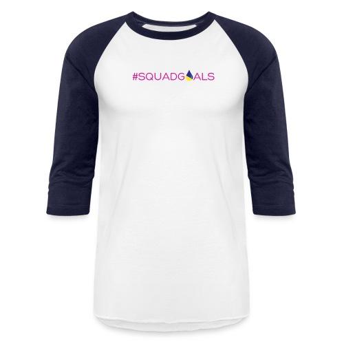 LDSquadGoalsSpreadShirt - Baseball T-Shirt