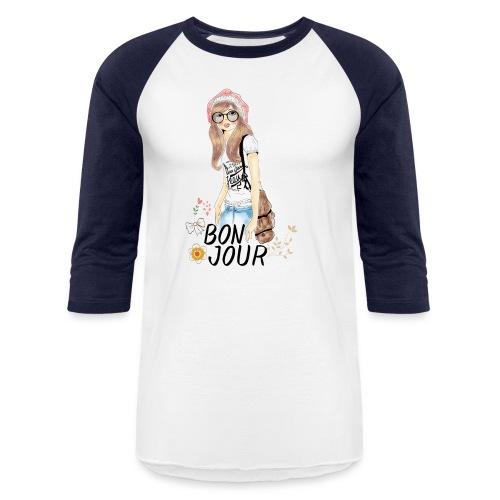 BONJOUR - Unisex Baseball T-Shirt