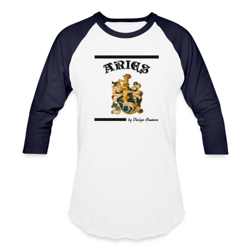 ARIES BLACK - Baseball T-Shirt