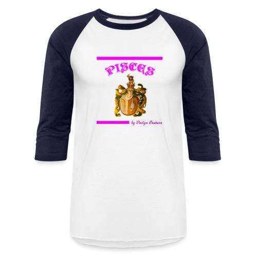 PISCES PINK - Baseball T-Shirt