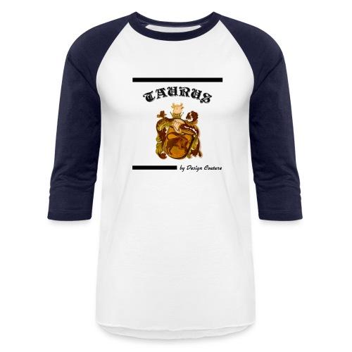 TAURUS BLACK - Baseball T-Shirt