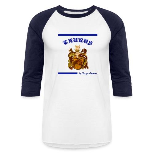 TAURUS BLUE - Baseball T-Shirt