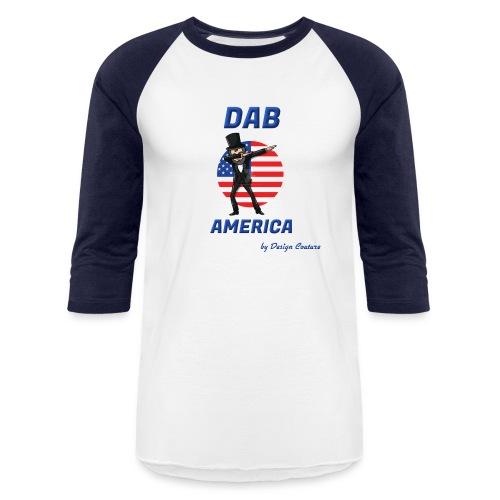 DAB AMERICA BLUE - Baseball T-Shirt
