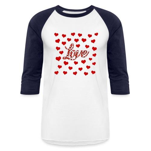 VALENTINES DAY GRAPHIC 3 - Unisex Baseball T-Shirt