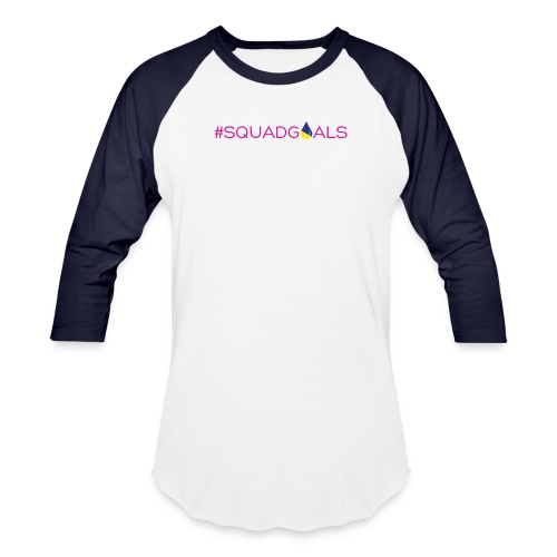 LDSquadGoalsSpreadShirt - Baseball T-Shirt