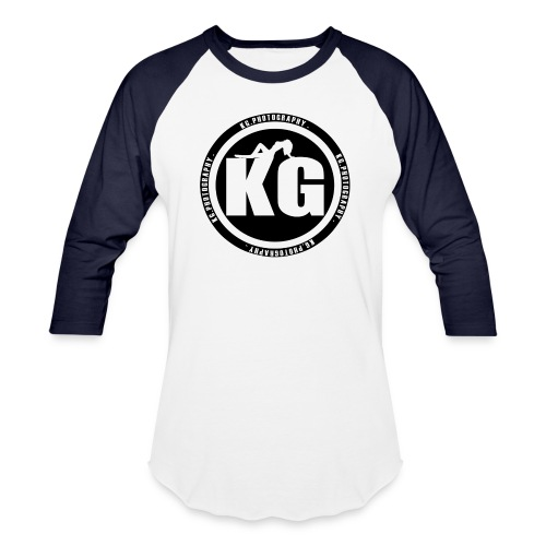KGPHOTOGRAPHY WHITE T's - Baseball T-Shirt