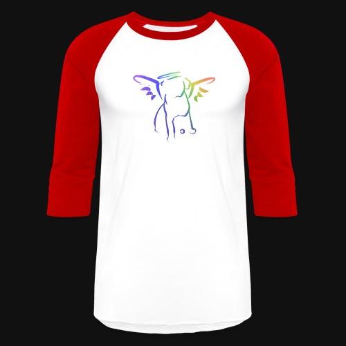 Angel Pup - Unisex Baseball T-Shirt