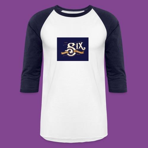 the 6 blue - Baseball T-Shirt