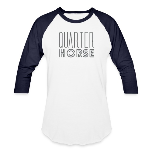 qh logo grey png - Unisex Baseball T-Shirt