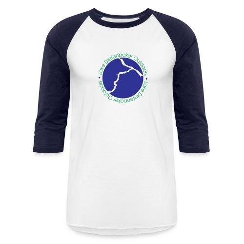 LDO WHITE LOGO - Baseball T-Shirt