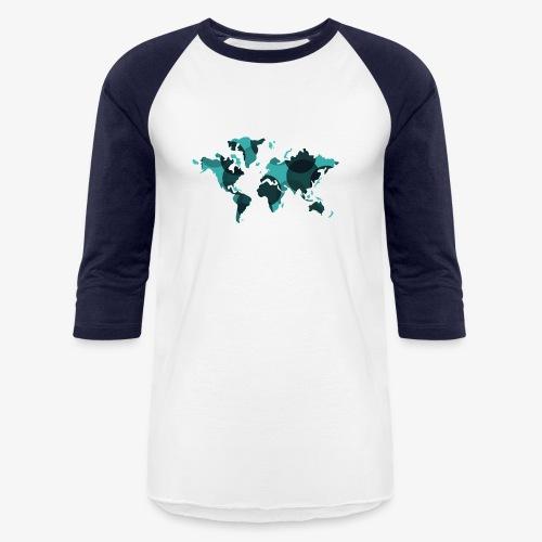 Artsy Earth - Unisex Baseball T-Shirt