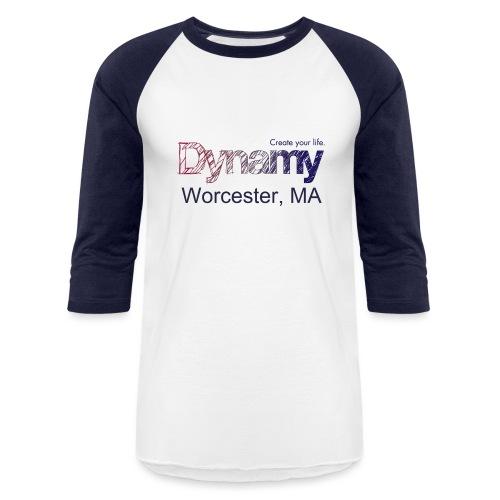 Dynamy Worcester - Unisex Baseball T-Shirt