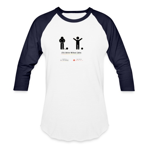 Life's better without cables: Prisoners - SELF - Unisex Baseball T-Shirt