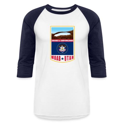 Utah - Moab, Arches & Canyonlands - Baseball T-Shirt
