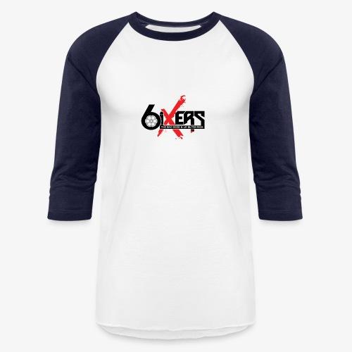 6ixersLogo - Unisex Baseball T-Shirt