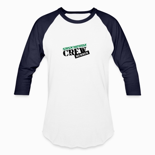 saskhoodz crew - Unisex Baseball T-Shirt