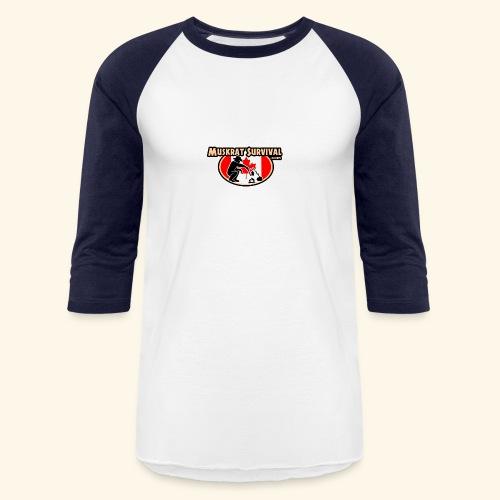 Muskrat Badge 2020 - Unisex Baseball T-Shirt