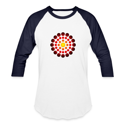 campfire symbol - Baseball T-Shirt