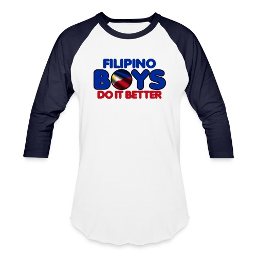 2020 Boys Do It Better 05 Filipino - Baseball T-Shirt