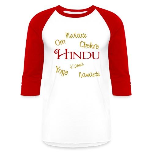 It's all Hindu - Baseball T-Shirt