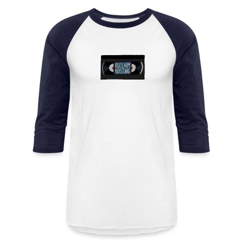 Reclaim Hosting VHS - Unisex Baseball T-Shirt