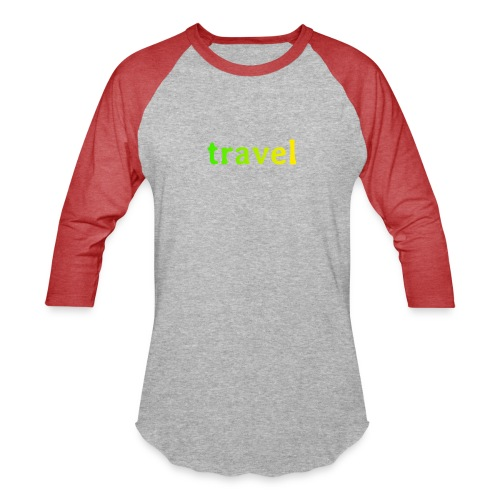 travel - Baseball T-Shirt