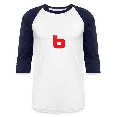 just b - Unisex Baseball T-Shirt