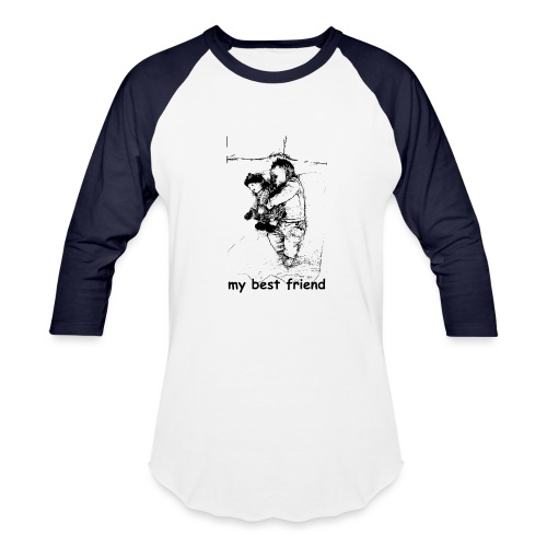 My Best Friend (baby) - Baseball T-Shirt
