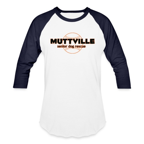 Muttville-Giants-baseball - Unisex Baseball T-Shirt