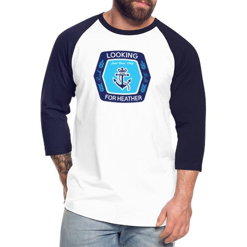 Looking For Heather Stock Logo - Unisex Baseball T-Shirt