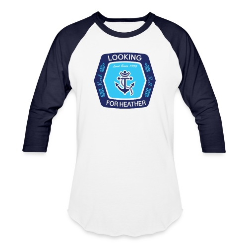 Looking For Heather Stock Logo - Baseball T-Shirt