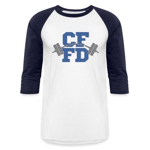 CFFD Barbell Logo - Baseball T-Shirt