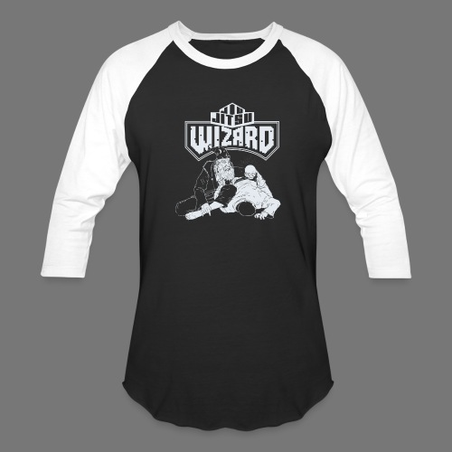 Jiu Jitsu Wizard- Crystal ball-o-plata - Baseball T-Shirt